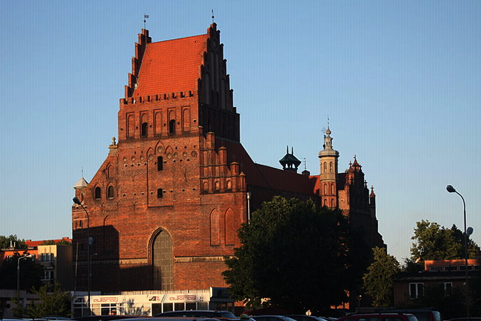 St Peter and St Paul Church at Żabi Kruk, Gdańsk