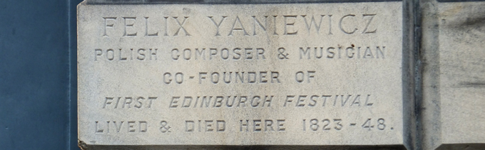 Polish Music in Scotland part 2 – Feliks Yaniewicz
