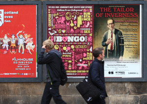 Tailor from Inverness poster in Edinburgh - Jarek Gasiorek 2013